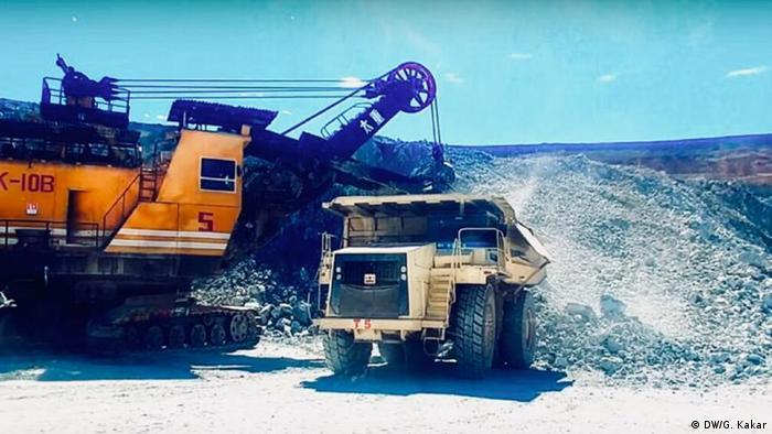 Saindak copper-gold mine in Pakistan