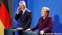 Deutschland | PK von Angela Merkel und Jens Stoltenberg
