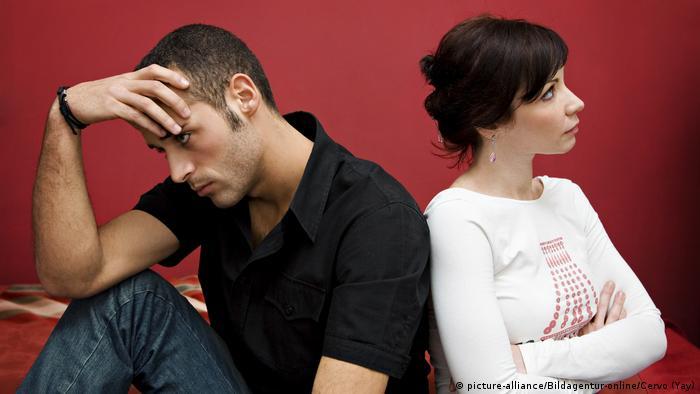 Symbolbild Beziehungskrise, Paar