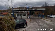 Bosnien und Herzegowina Volkswagenwerk in Sarajevo