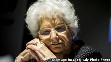 Italien Liliana Segre Überlebende des Holocaust und Senatorin auf Lebenszeit