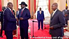 Uganda Friedensgespräche in Entebbe