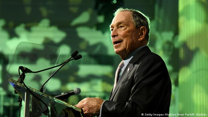 USA | New Yorker Ex-Bürgermeister Michael Bloomberg (Getty Images /Hudson River Park/B. Bedder)