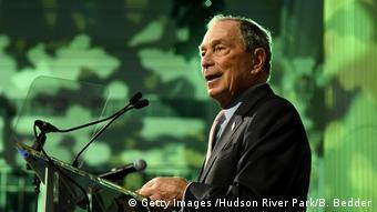 Mgombea kiti cha rais wa Marekani Michael Bloomberg
