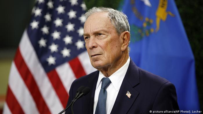 USA | New Yorker Ex-Bürgermeister Michael Bloomberg (picture-alliance/AP Photo/J. Locher)