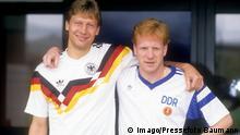 Fußball | Trikot | BRD | DDR | Guido Buchwald | Mathias Sammer
