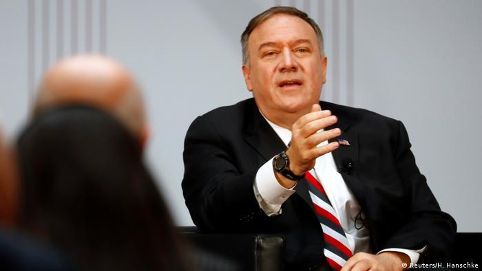 Offizieller Besuch des US-Außenministers Pompeo in Deutschland (Reuters/H. Hanschke)