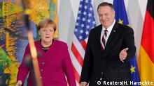 Offizieller Besuch des US-Außenministers Pompeo in Deutschland