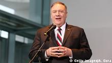 US-Außenminister Mike Pompeo zu politischen Gesprächen in Berlin