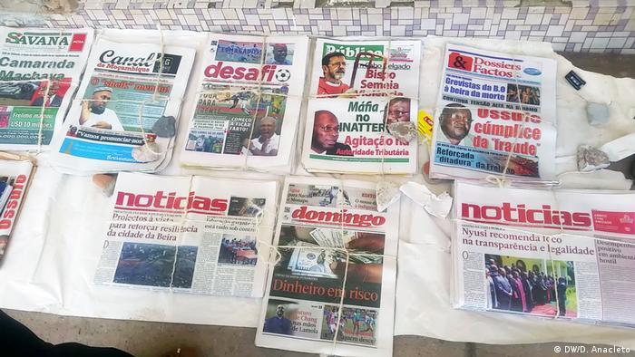 Mosambik Pemba Zeitungen