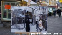 Bilder zerstörter jüdischer Geschäfte am Kurfürstendamm