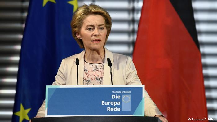 Deutschland Europa-Rede Ursula von der Leyen (Reuters/A. Hilse)