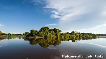 Una imagen del Pantanal antes de los incendios.