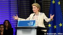 Deutschland Europa-Rede Ursula von der Leyen