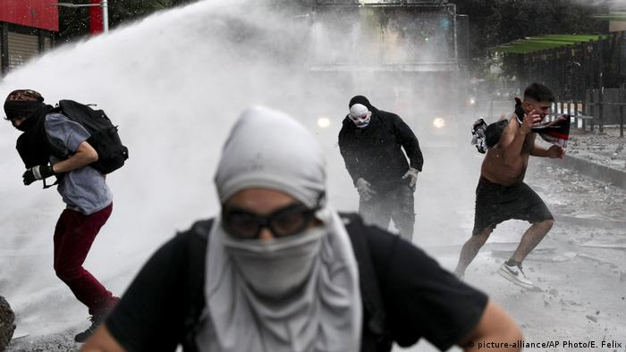 Chile Protest (picture-alliance/AP Photo/E. Felix)