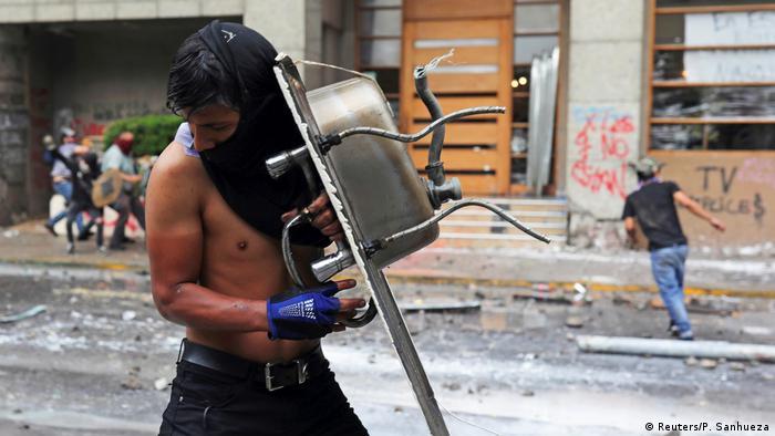 BdTD Proteste in Chile