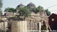 Indien Tempel Urteil Babri Moschee