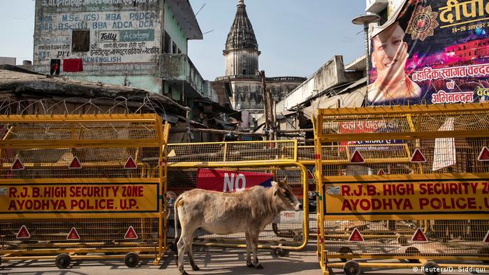 Indien Urteil Moschee (Reuters/D. Siddiqui)