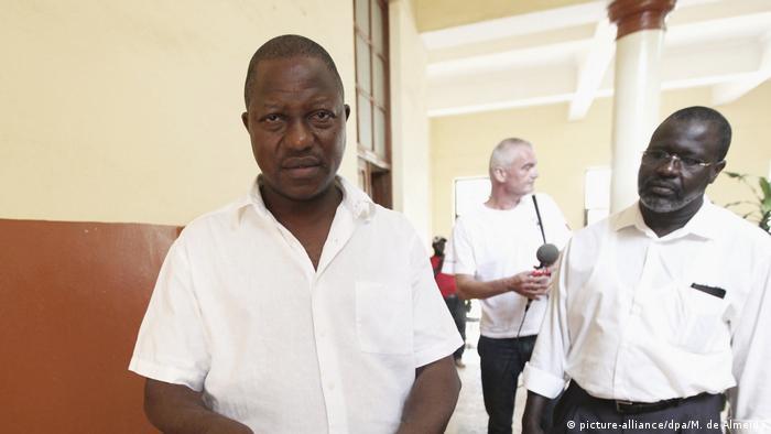 Guinea Bissau Faustino Imbali (picture-alliance/dpa/M. de Almeida)