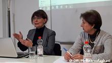 Deutschland Vortrag Nahid Keshavarz | Gewalt gegen Frauen im Iran