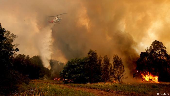 Australien Buschfeuer Brand Waldbrand (Reuters)