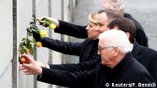 Deutschland Gedenkfeier zum Mauerfall in Berlin - Steinmeier dankt Osteuropäern
