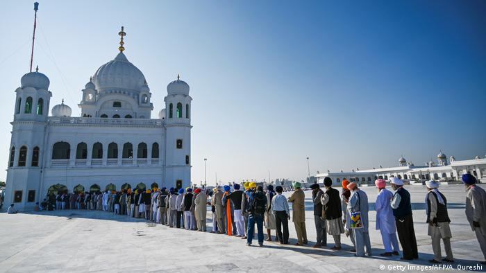 Pakistan und Indien Eröffnung Sikh Pilgerweg in Kartarpur