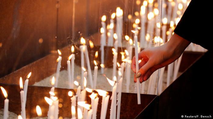 Foto simbólica de candelas.