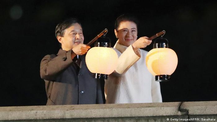 Japan Feierlichkeiten Thronbesteigung Kaiser Naruhito (Getty Images/AFP/K. Sasahara)