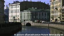 Russland Stadtansicht von St. Petersburg