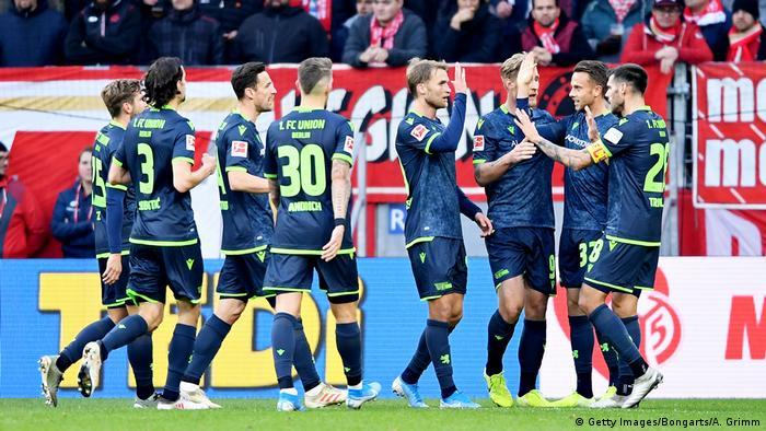 Deutschland Bundesliga 1. FSV Mainz 05 v 1. FC Union Berlin | Tor Union (Getty Images/Bongarts/A. Grimm)