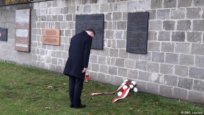 Prezydent Andrzej Duda odwiedził były niemiecki obóz koncentracyjny Sachsenhausen
