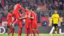 Fußball Bundesliga FC Bayern München - Borussia Dortmund