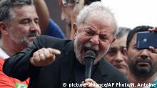 Brasilien Luiz Inacio Lula da Silva in Sao Bernardo do Campo