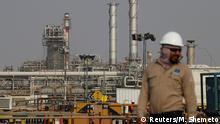 Saudi-Arabien Erdölraffinerie von Saudi Aramco in Abqaiq