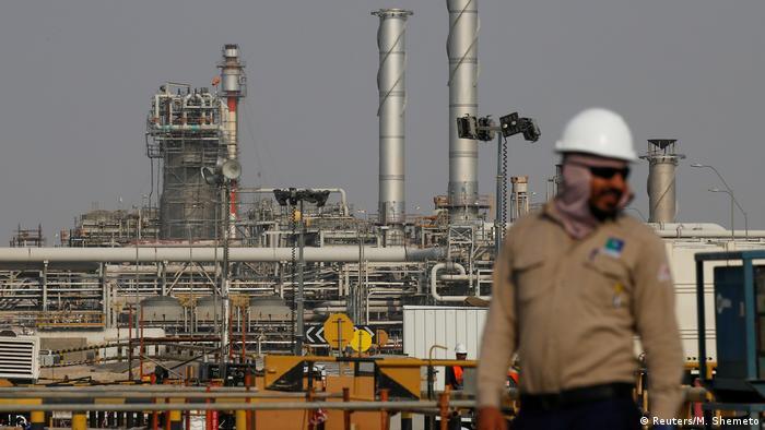 Oil facility of Saudi Aramco in Abqaiq