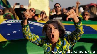 Brasilien Proteste nach der Freilassung von Ex-Präsident Lula in Brasilia