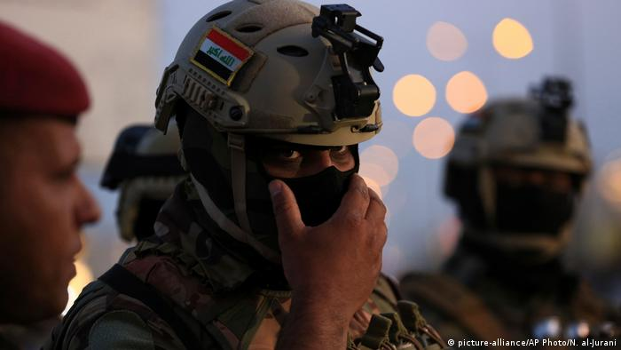 Irak Proteste in Basra