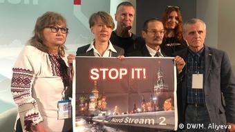 Евгения Чирикова (вторая слева) и другие участники VIII Форума свободной России