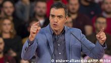 Vor der Wahl in Spanien Pedro Sanche