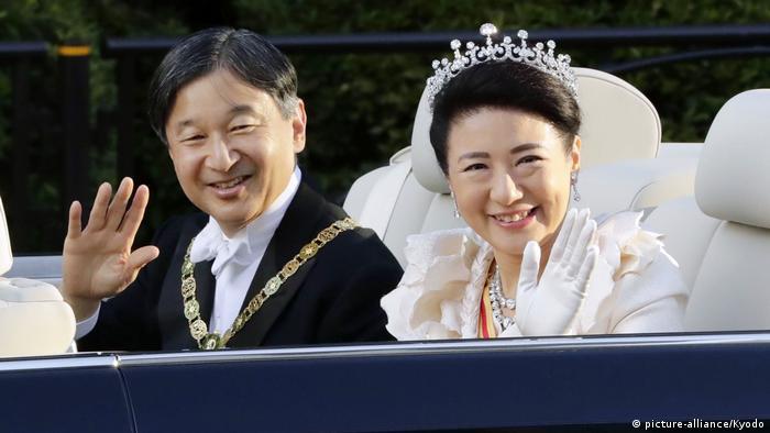 Königliche Parade zur Thronbesteigung des japanischen Kaisers Naruhito in Tokio