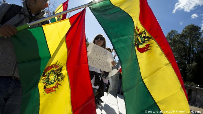 OAS Bolivien (picture-alliance/AP Photo/J. L. Magana)