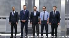 Spanien Parlamentswahlen Kandidaten