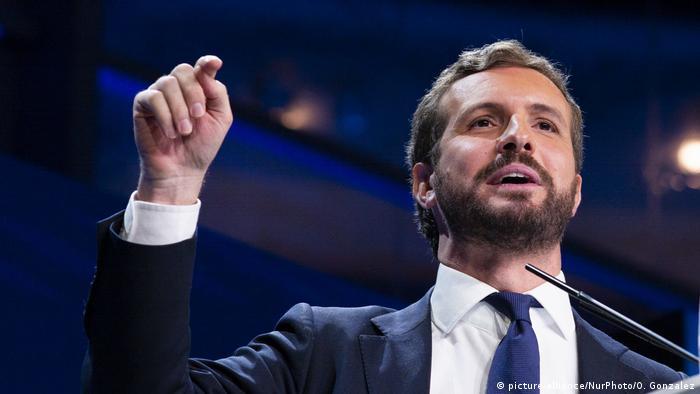 Pablo Casado, líder del PP español.