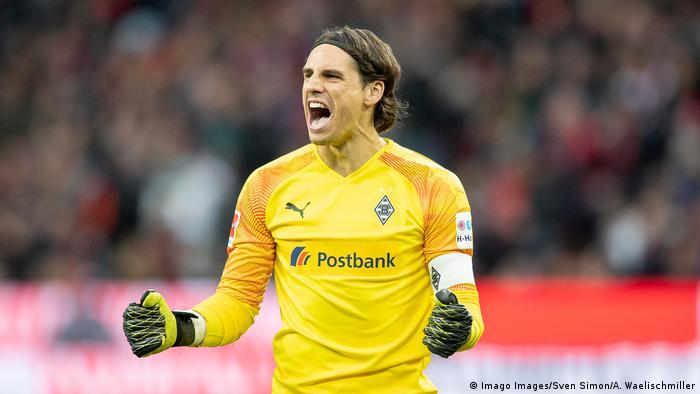 Fußball Bundesliga Bayer 04 Leverkusen - Borussia Mönchengladbach Torwart Yann Sommer (Imago Images/Sven Simon/A. Waelischmiller)