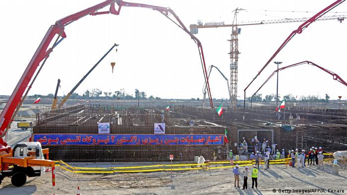 Reactor construction starts in Bushehr