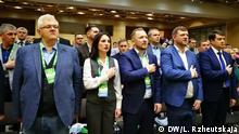 Ukraine Parteikongress Selenskij-Partei in Kiew