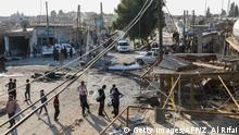 Syrien Autobombe in Tal Abyad