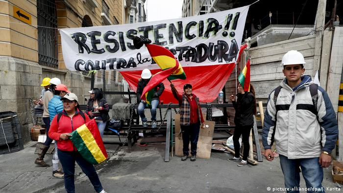 Bolivia Elections (picture-alliance/dpa/J. Karita)