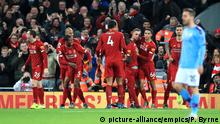 Fußball Premier League Liverpool - Manchester City (picture-alliance/empics/P. Byrne)